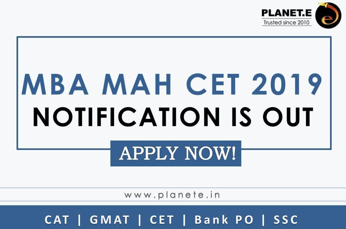 MBA MH CET 2019 Notification