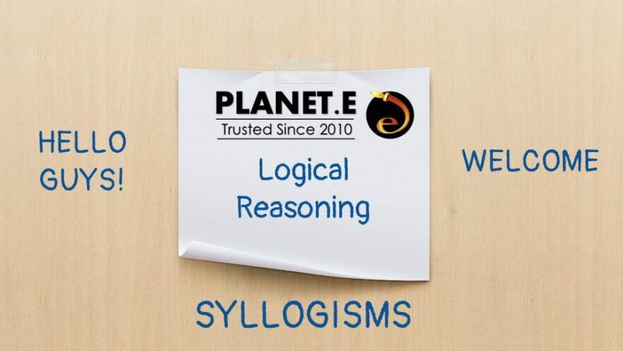 Basics of syllogism