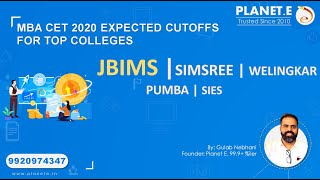 MAH MBA CET 2020 expected Cutoff
