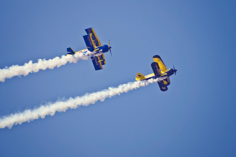 Aerobatic Biplanes Viking And WASP