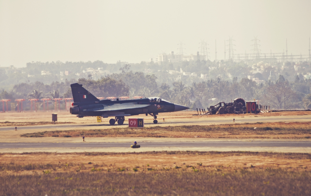 Fighter Jet On The Runway