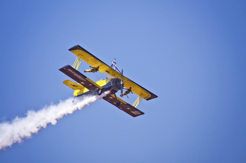 Flying Cats Of Scandinavian Airshow