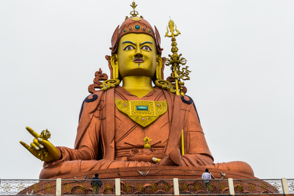 Giant Statue Of Guru Padmasamhava
