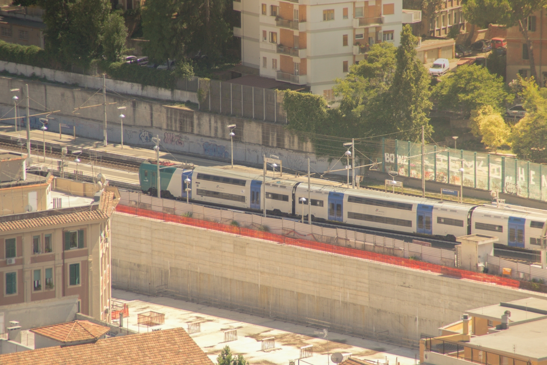 Roman Rail Train To Rome