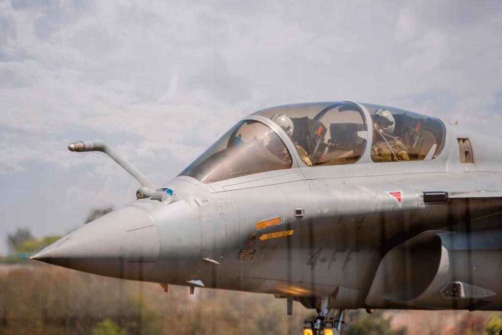 Say Hello To Dassault Rafale Pilots