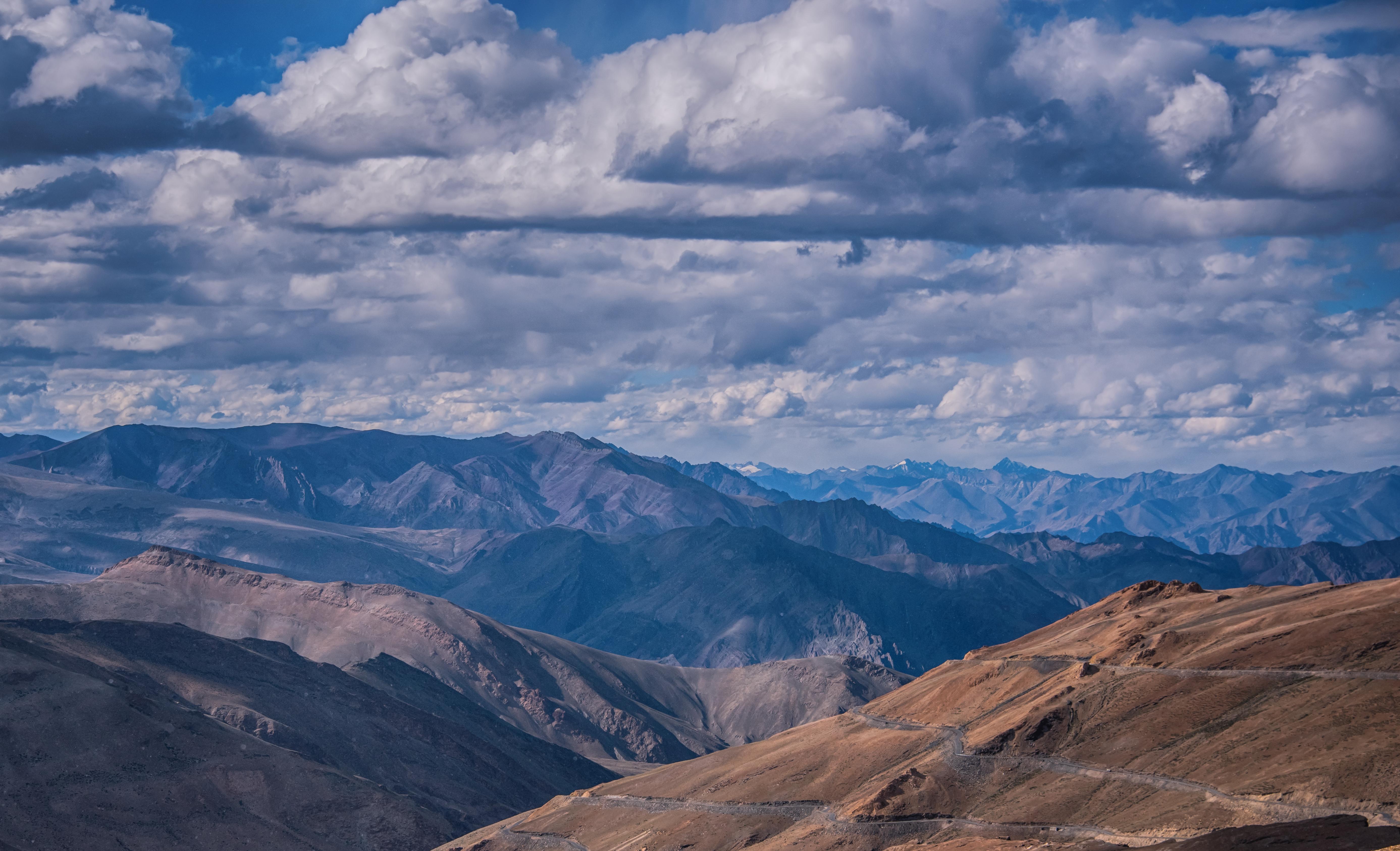 Vivid Landscape Of Ladakh