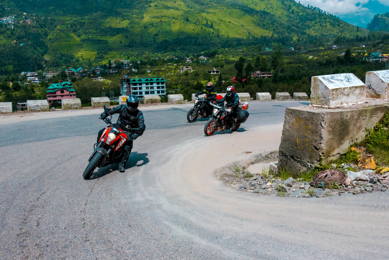KTM Motorcyclists Ladakh Trip