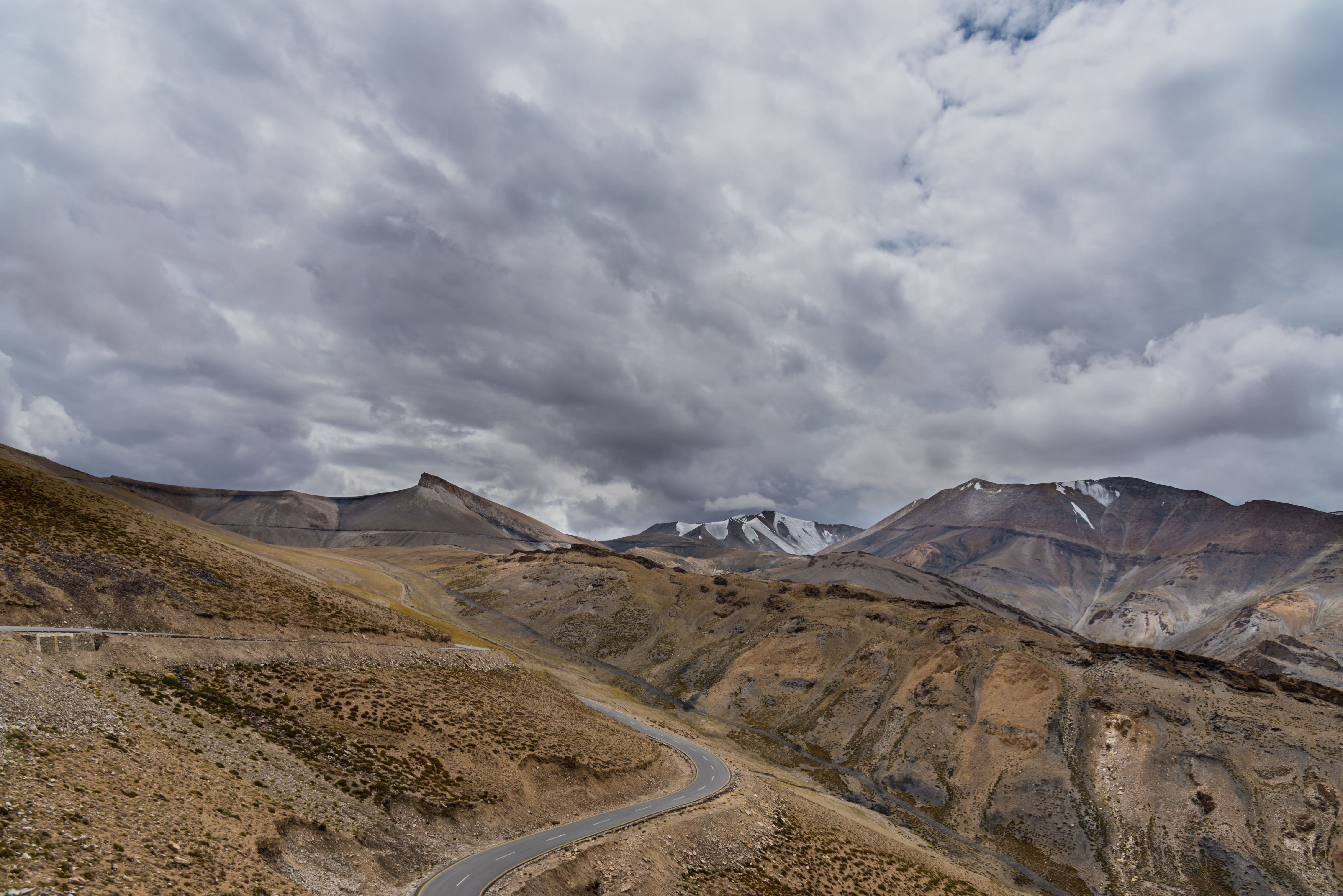Picturesque Hillscapes Of Ladakh Region