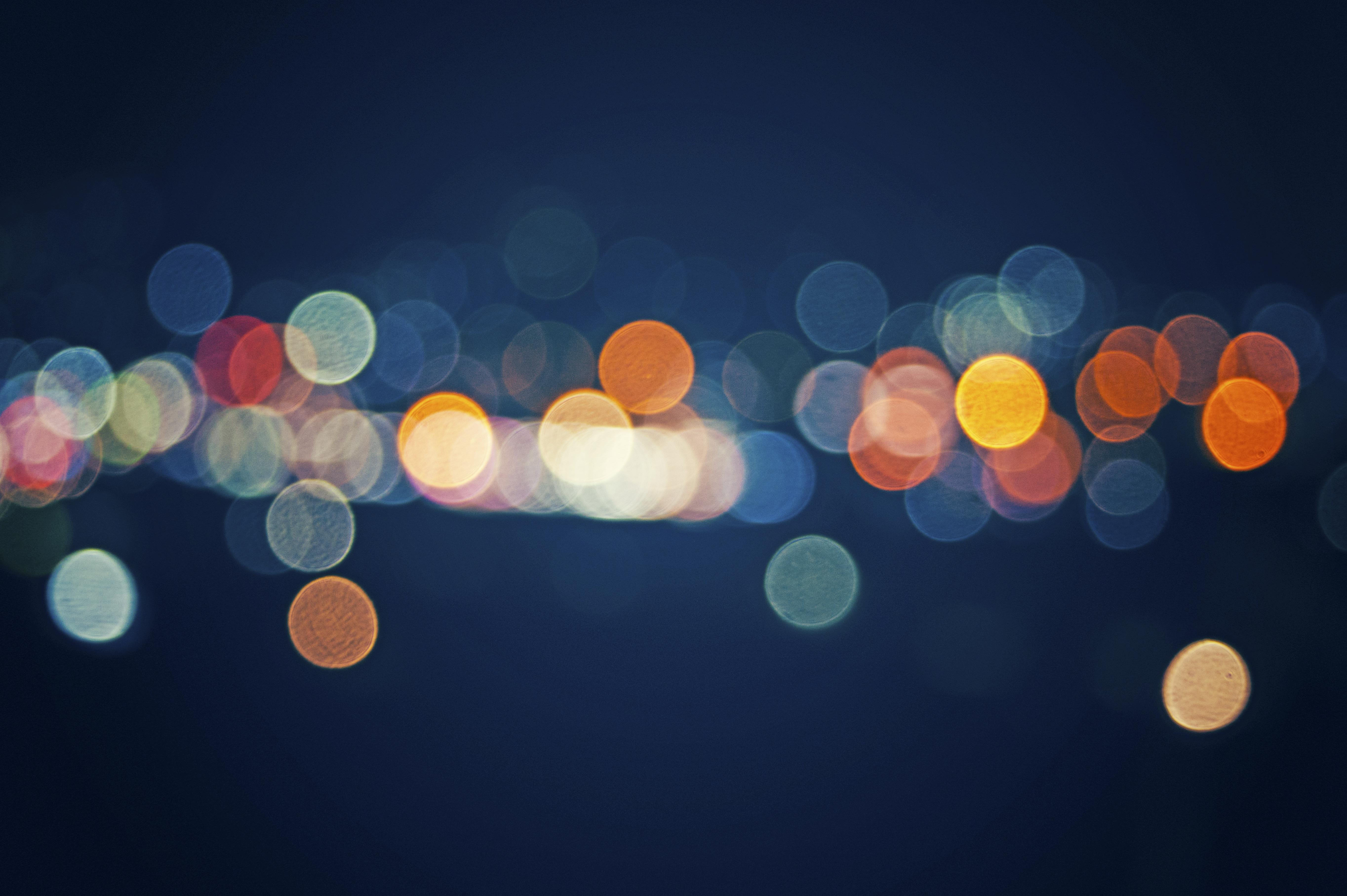 Street Light Bokeh