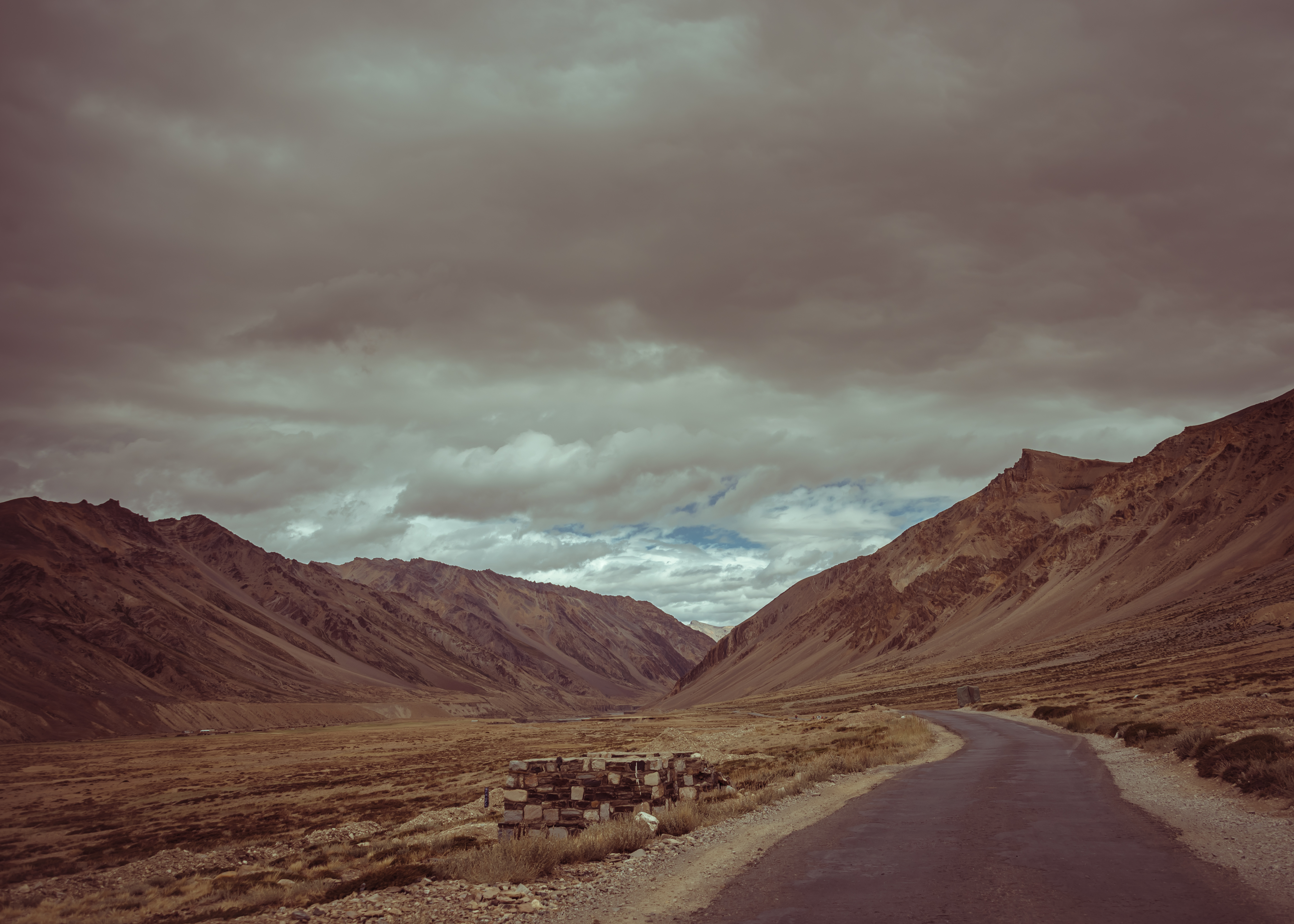 A Beautiful Road In The Ladakh Region