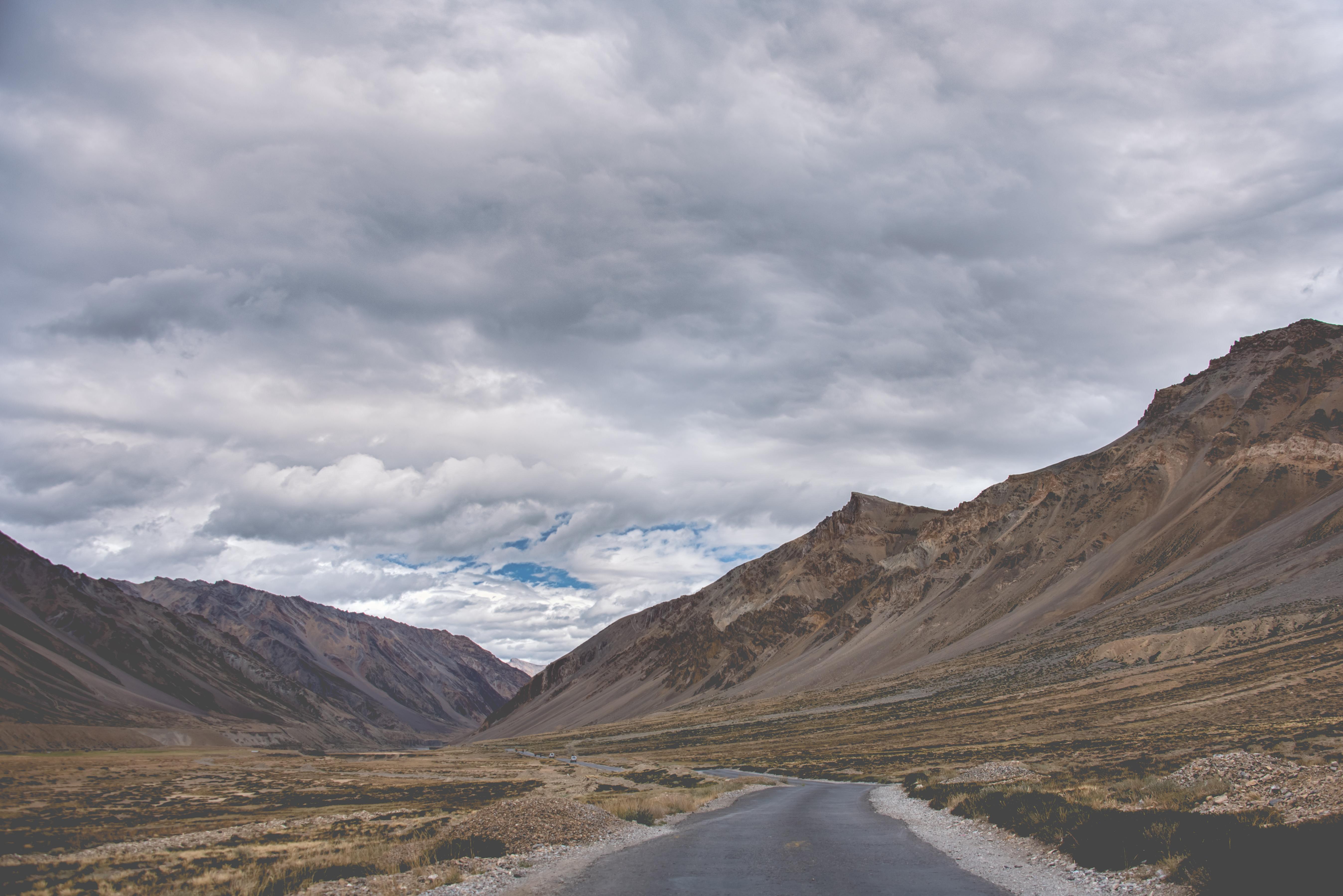 Cool Landscape Of Ladakh Region
