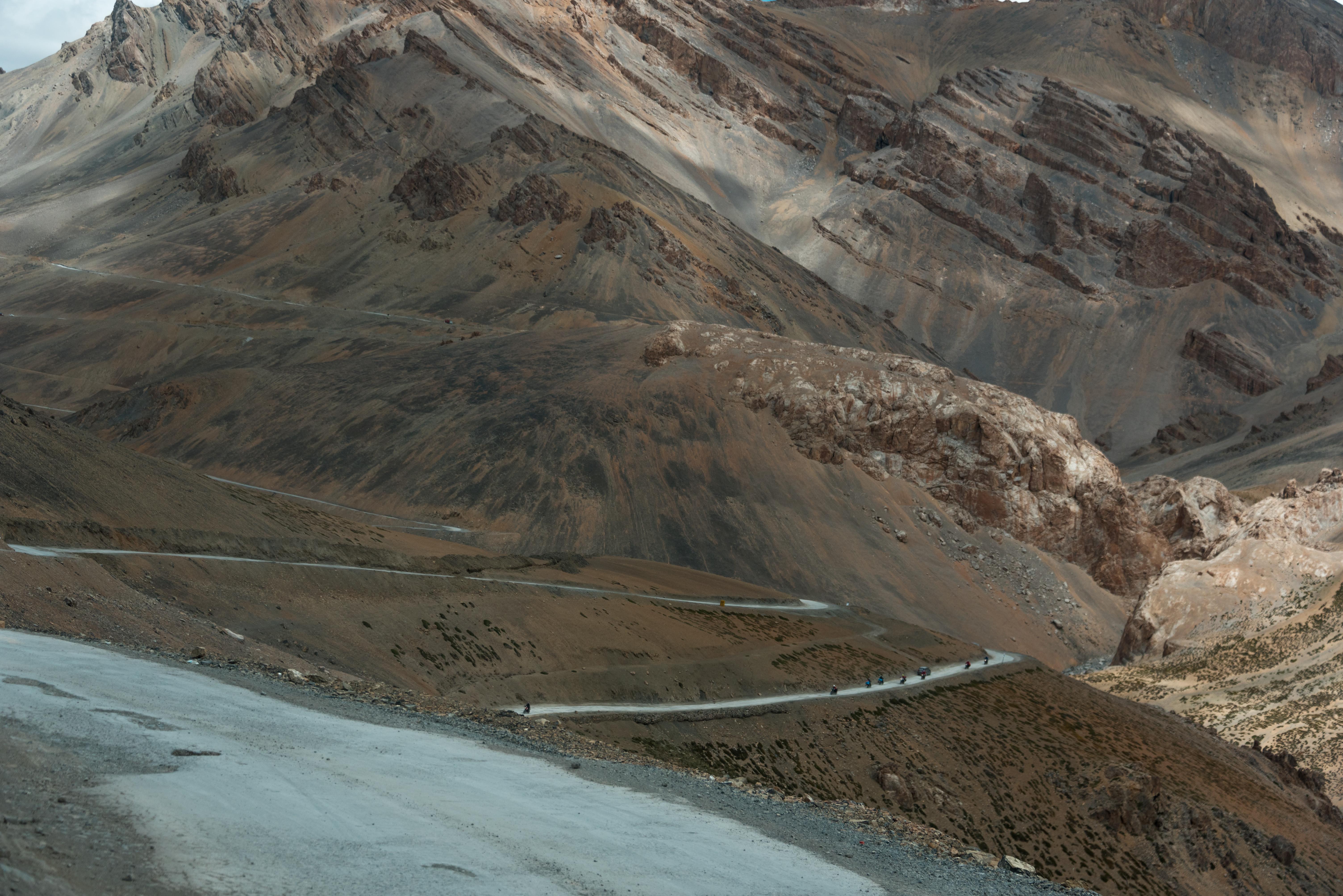 Hilly Roads Of The Ladakh Region