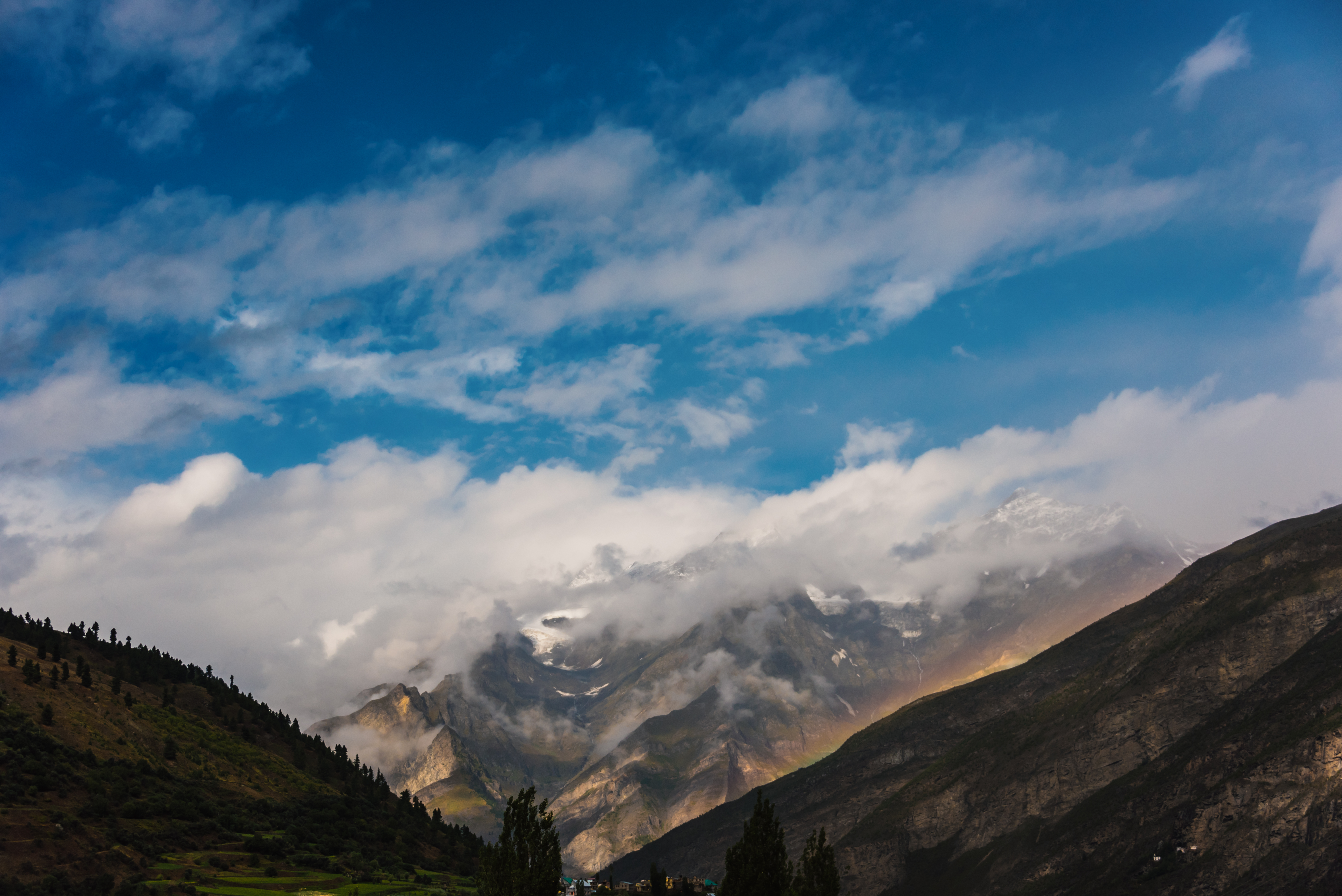 Himalayas The Divine Protector Of India