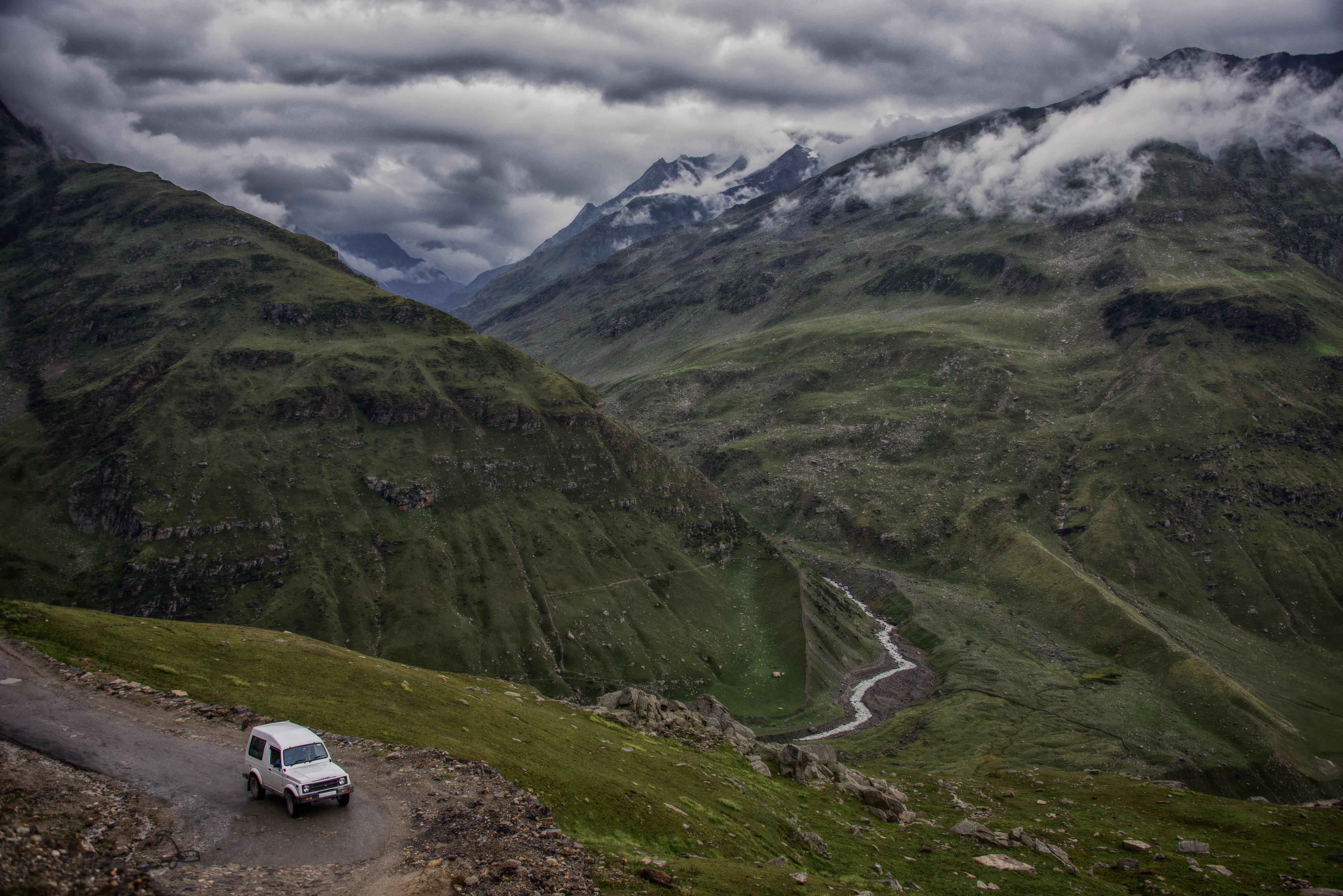 Lush Greenery Of Himalayas