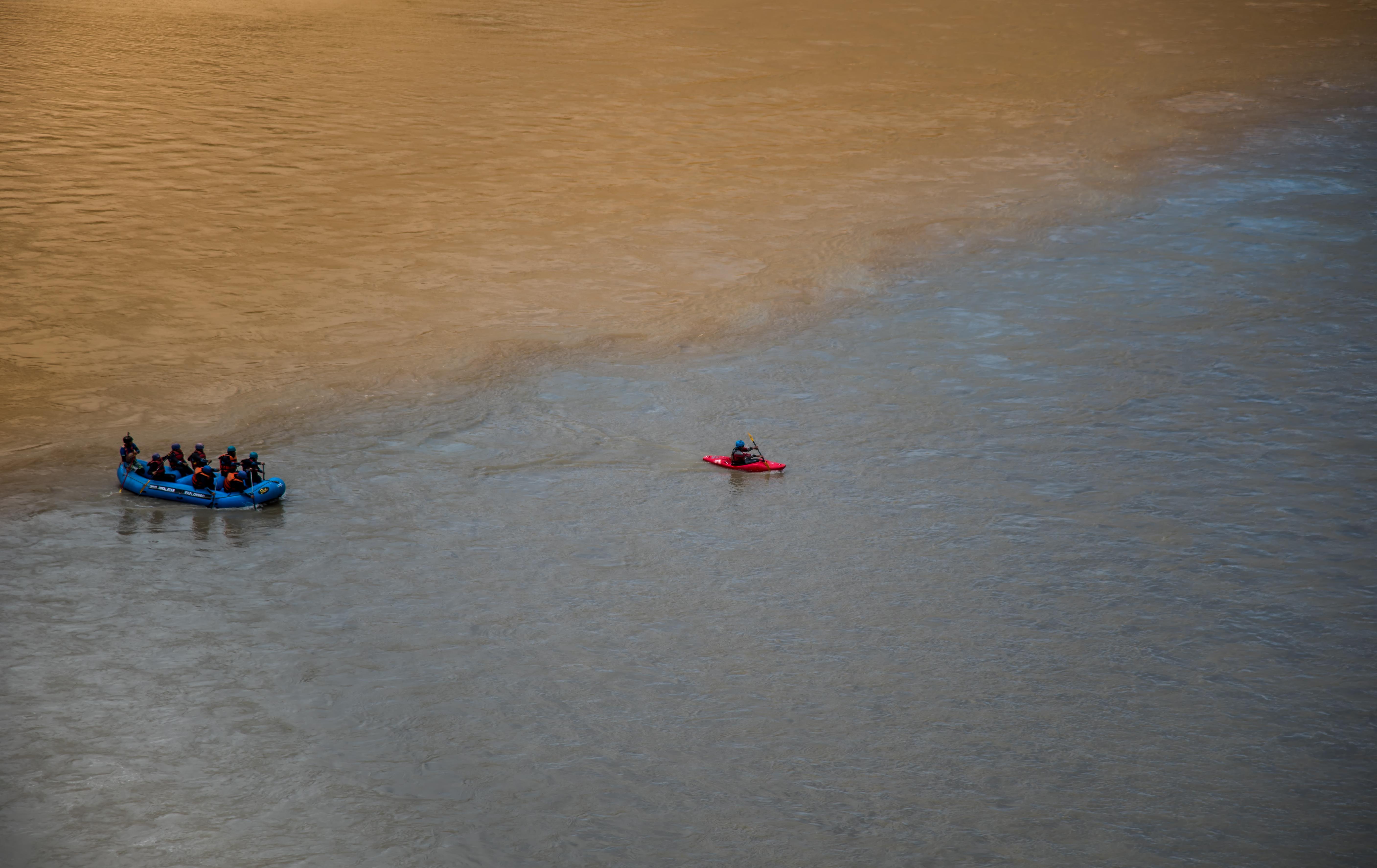 Rafting Kayaking In River Indus Ladakh