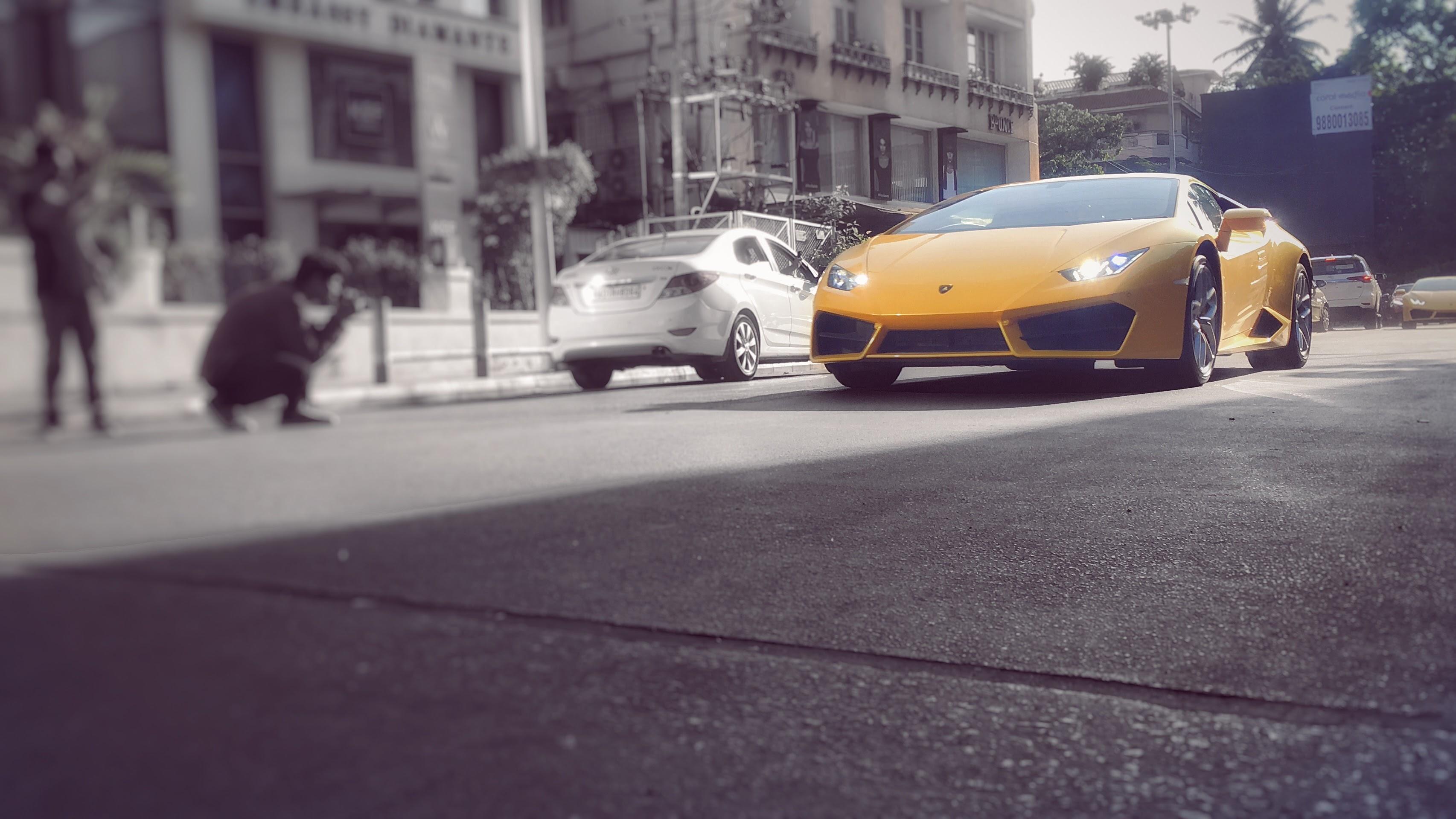 Street Shutterbugs Shoot Lamborghini Huracan