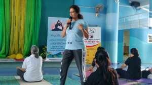 Sangita's Yogasutra yoga