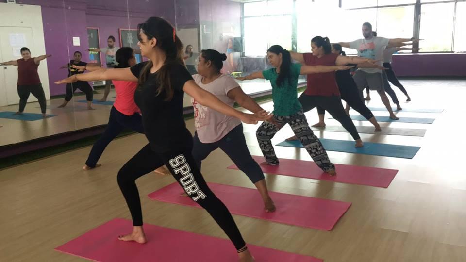Regular yoga classes