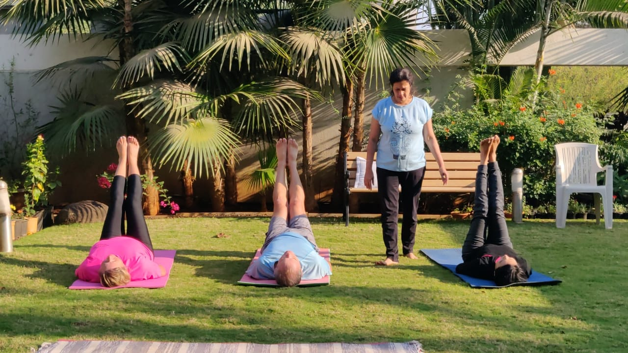 Sangita's Yogasutra retreat