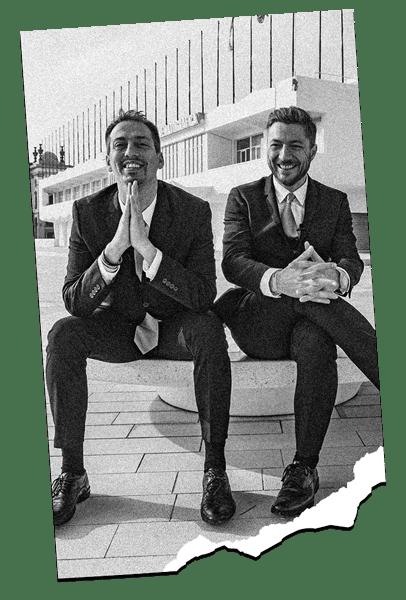 Davide e Enrico di Moneysurfers