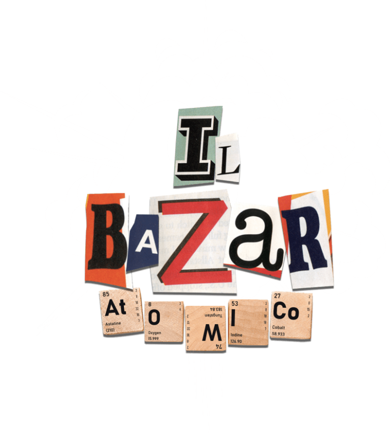 logo il bazar atomico