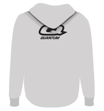 Quantum hoodie grey back render