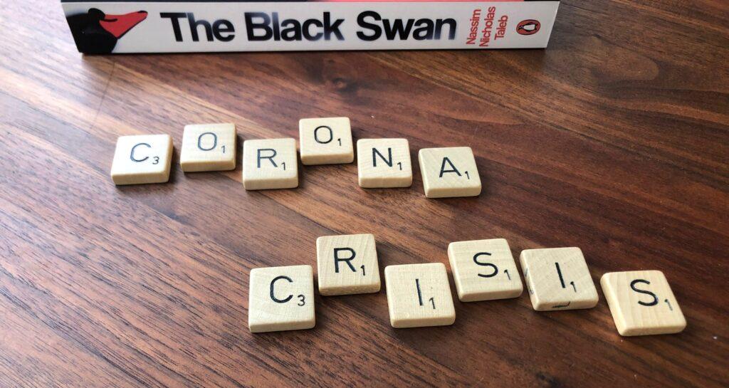 Black Swan Corona Crisis Copyright Martijn van Dalen