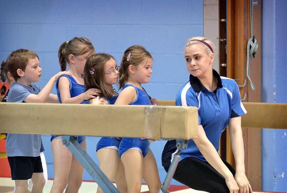 GymFun Newtownabbey based gymnastics club