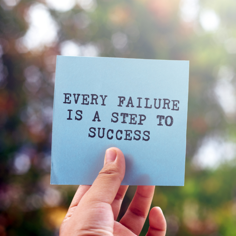 Failing Doesn't Make You A Failure