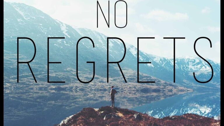 Living In Regret and How to Overcome It