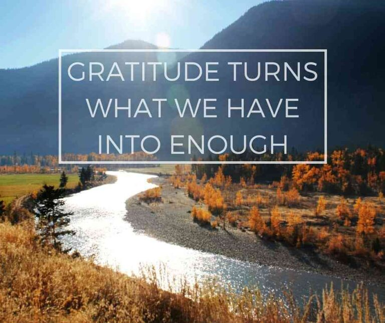 Being Thankful When It's Difficult!
