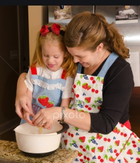 Baking with Mom