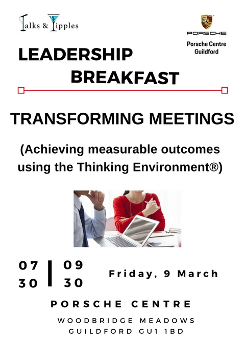 Leadership Breakfast - Guildford March 2018