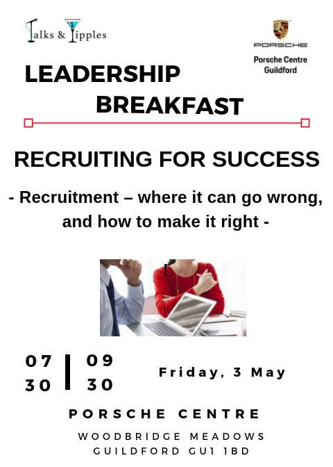 Leadership Breakfast - Guildford May 2019