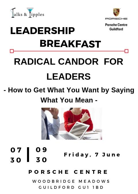 Leadership Breakfast - Guildford June 2019