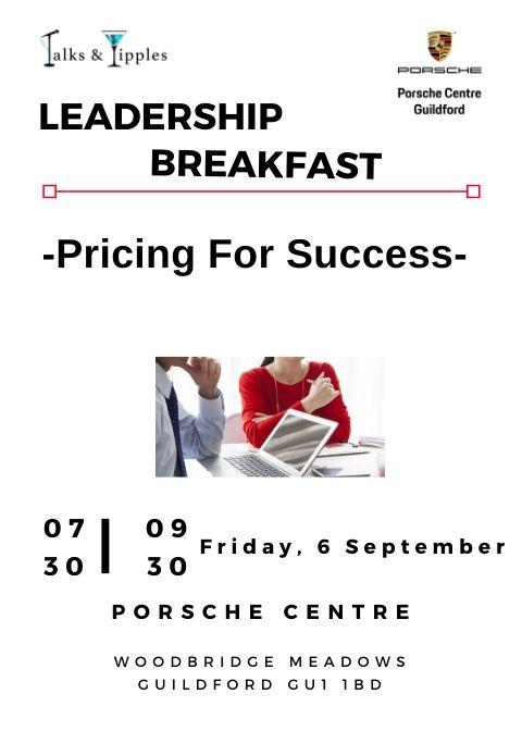 Leadership Breakfast - Guildford September 2019