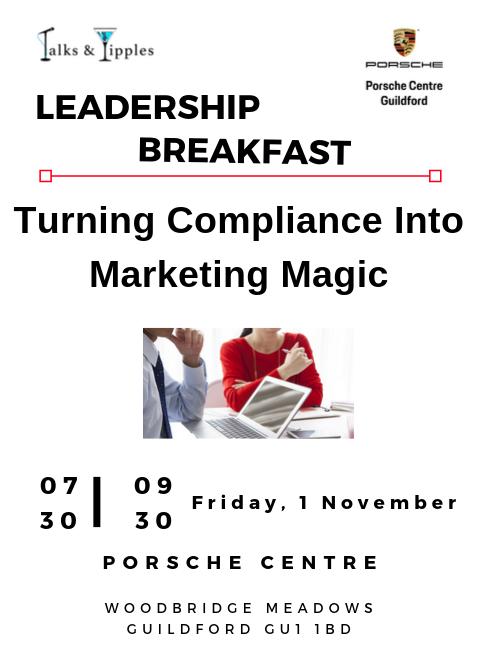 Leadership Breakfast - Guildford November 2019