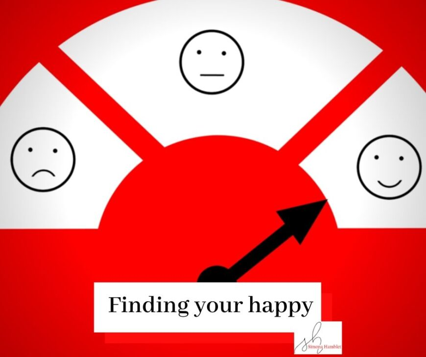 Sad to smiling faces - finding your happy