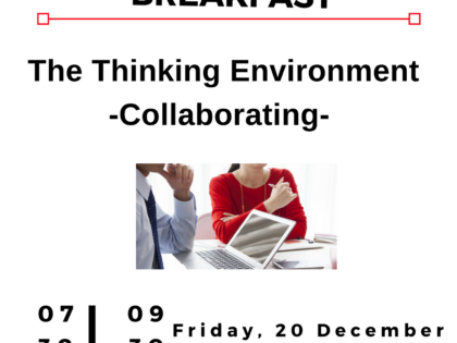 Leadership Breakfast Flyer 2019 Guildford - The Thinking Environment