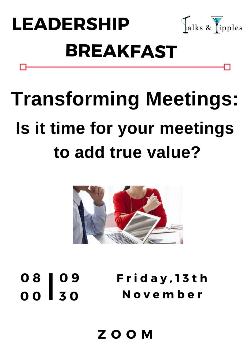 Leadership Breakfast Flyer