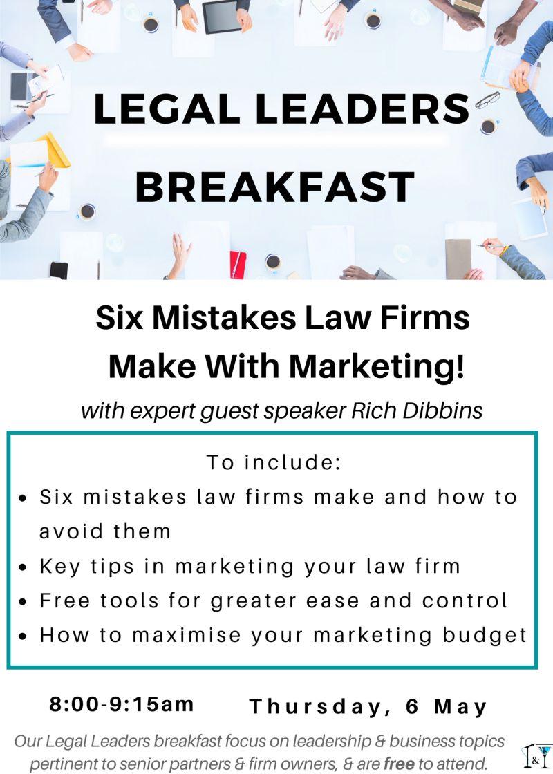 Legal Leaders Breakfast - April 2021