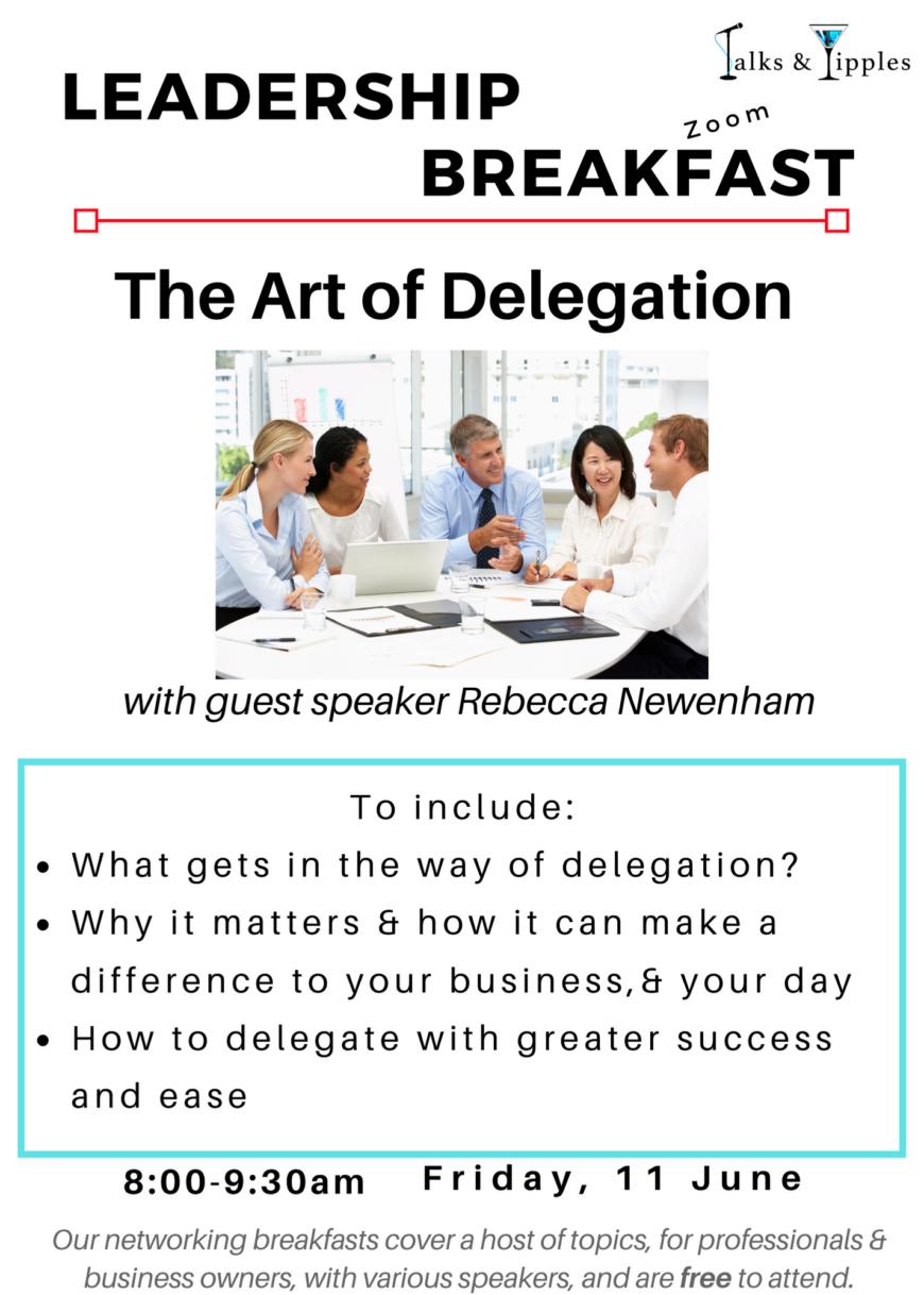 Leadership Breakfast - June 2021