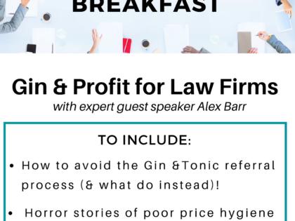 Legal Leaders Breakfast - July 2021