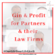 Faded background with title Gin & Profit for Law Firms