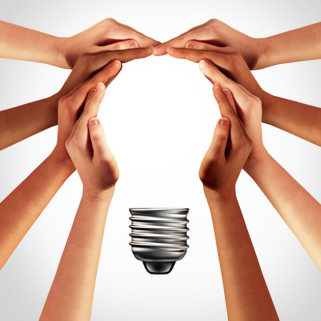 To develop values of collaboration and cohesive working