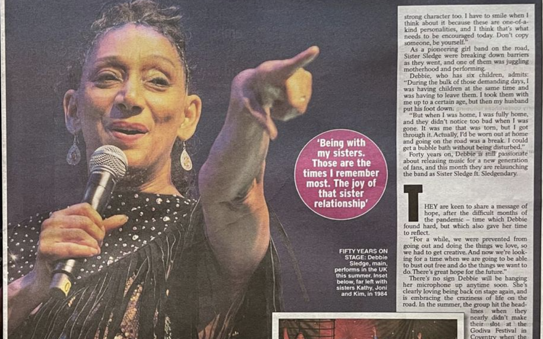 Debbie interviewed by The Daily Express UK
