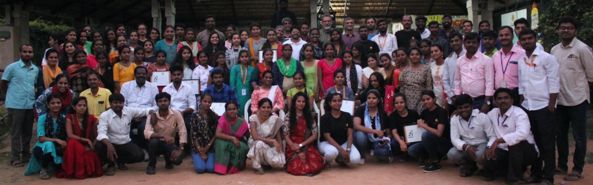 work with ngo - makkala jagriti