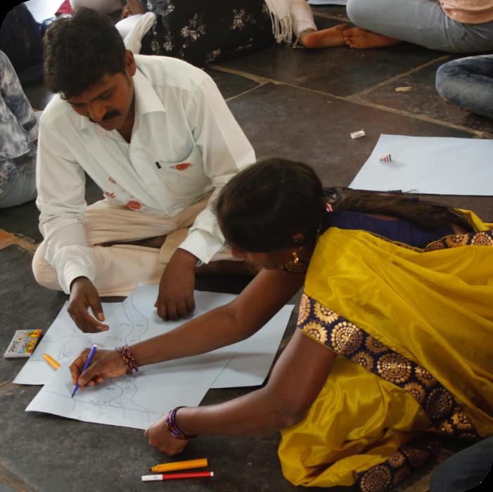 anganwadi centres - Makkala Jagriti