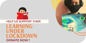 """Raising funds to support """"Learning under Lockdown"""""""