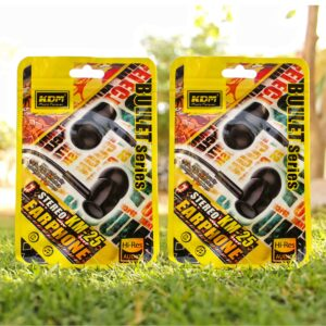 KDM KM-25 Earphone Black Color(Pack of 2)